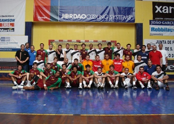 Portugal : Egipto - Juniores A masculinos