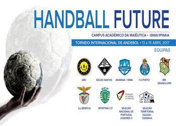 Handball Future - Torneio Internacional - banner equipas