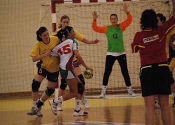 Bulgária : Roménia - qualificação sub-19 femininas