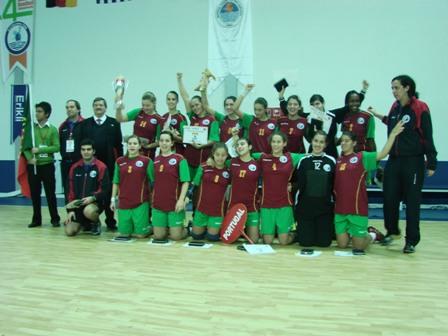 Portugal 2º classificado no 4º Campeonato do Mediterrâneo