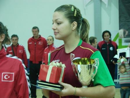 Ana Pereira recebeu o Prémio de Melhor Defensora