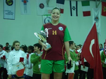 Ana Pereira - Capitã da Selecção Nacional Junior B Feminina