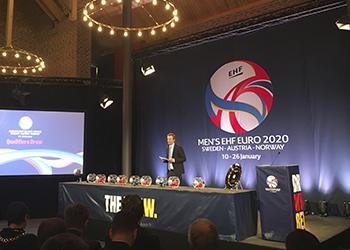 Men''s EHF Euro 2020 - Draw