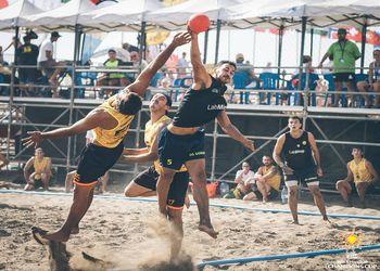 EHF Beach Handball Champions Cup: Club BM Playa Ciudad de Malaga : OS Gordos / Labminho - Clube Naval de Leça
