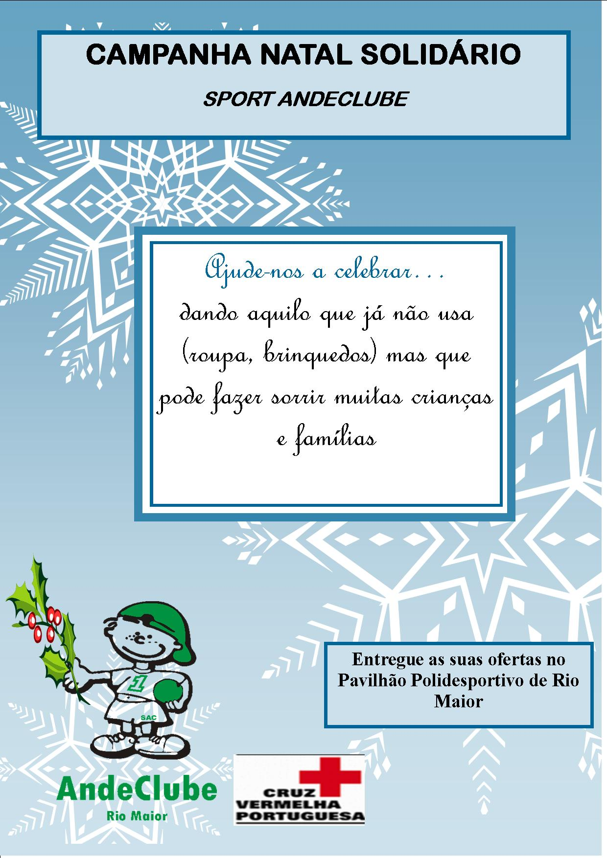 Campanha Natal Sport Andeclube