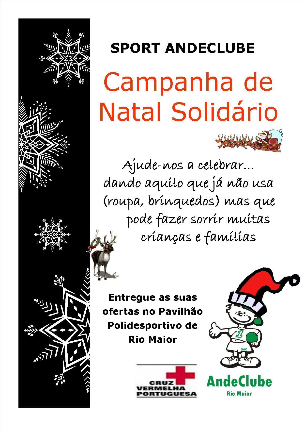 Campanha de Natal Sport Andeclube