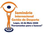 Logo Seminário Internacional Gestão Desporto Lagos