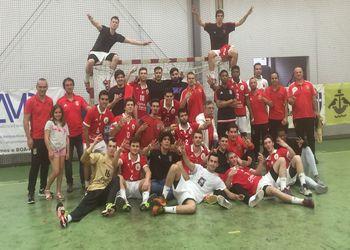 SL Benfica - Tricampeão Nacional de Juniores Masculinos da 1ª Divisão