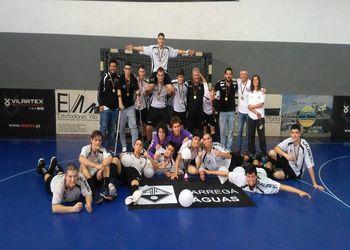 AA Águas Santas - Iniciados Masculinos - campeão nacional 2017/ 2018