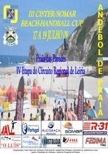Cartaz IV Etapa Camp. Reg. AA Leiria - 17 a 19 Julho - Praia Paredes