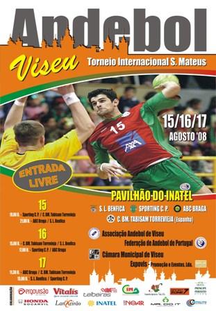 Cartaz Torneio Internacional S. Mateus