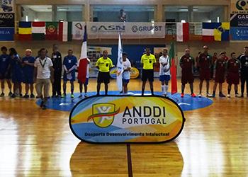 Campeonato Europeu de INAS 2018 - Portugal : França (Masculino)