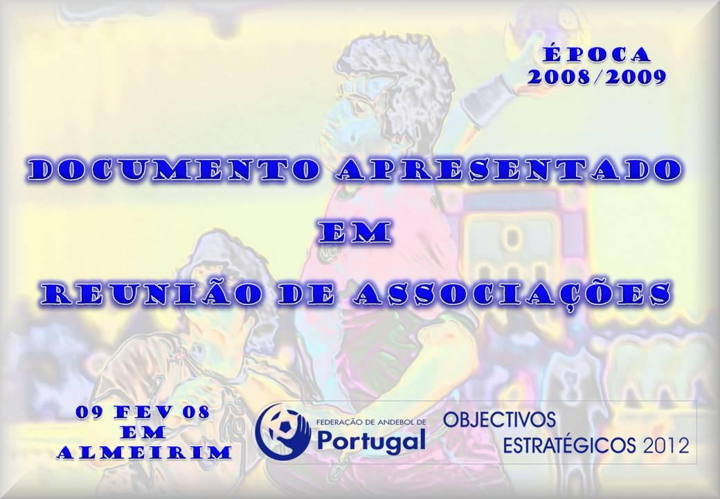 Imagem Documento Reunião Associações