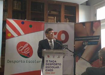 Augusto Baganha - Apresentação da II Taça Desporto Escolar/CNID