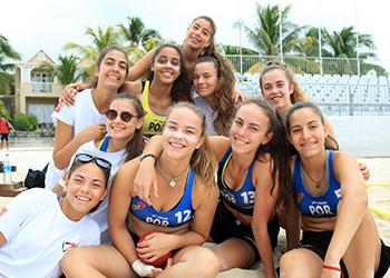 Seleção Sub17 Feminina - Maurícias 2017