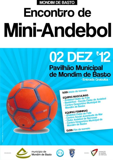 AA Braga - Cartaz Mini-Andebol