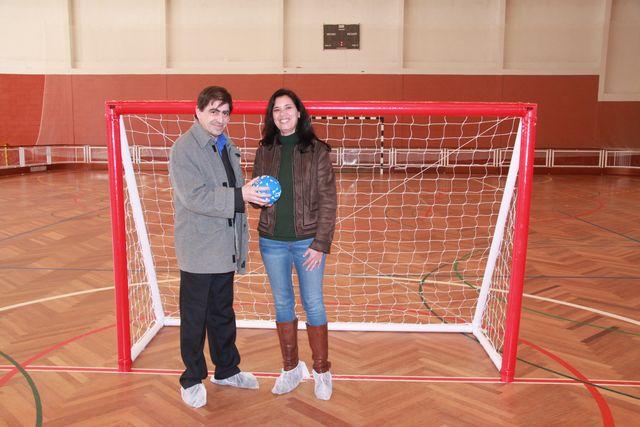 Federação entregou material desportivo à Câmara Municipal de Alcácer do Sal