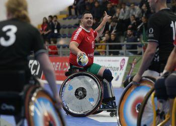 Portugal : Holanda - Torneio Europeu de Andebol em Cadeira de Rodas 1ª Jornada - foto: PhotoReport.In