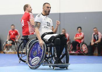 Croácia : Portugal - Torneio Europeu de Andebol em Cadeira de Rodas 2ª Jornada - foto: PhotoReport.In