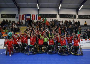 Portugal - vencedor do Torneio Nacional de Andebol em Cadeira de Rodas 2018