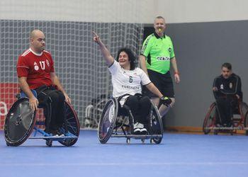 Portugal : Hungria - Torneio Europeu de Andebol em Cadeira de Rodas 3ª Jornada - foto: PhotoReport.In