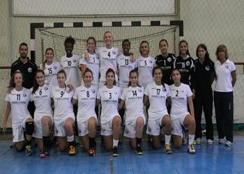 Seleção Juniores B - Femininas - Torneio Santo Ovidio Setembro 2014 (ao baixo)