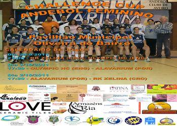 Cartaz Alavarium - Challenge Cup