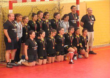 Lagoa AC - Campeão Nacional de Infantis Femininos