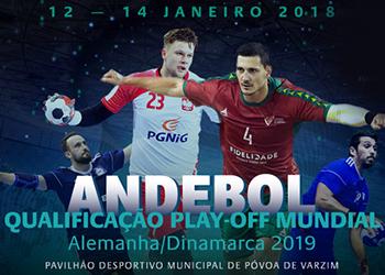 Seleção A Masculina - Qualificação Play-Off Mundial - Portal 2018