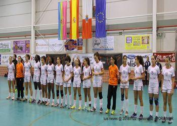 Selecção Nacional Sub-17 Femininas - Torneio Scandibérico - foto: Luís Neves
