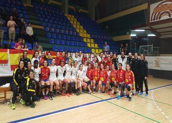 Selecções Nacionais de Sub-15 Femininas de Portugal e Espanha - jogos amigáveis