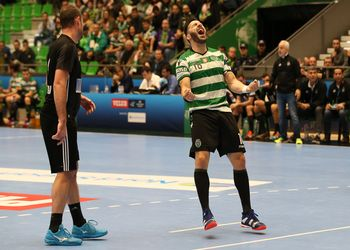 Carlos Carneiro - Sporting CP : Besiktas Mogaz - Velux EHF Champions League - PhotoReport.In