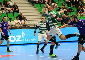 Velux EHF Champions League: Sporting CP x Chekhovskie Medvedi - Grupo D - 4ª Jornada
