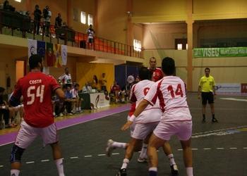 SL Benfica-BM Chapela - Ataque do SL Benfica 1