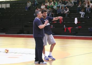 Carlos Carneiro e Rolando Freitas - Treino seleção - 06.06.2013
