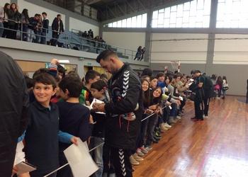 Seleção Nacional em ação no Colégio Carvalhos - 2