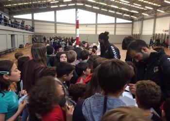 Seleção Nacional em ação no Colégio Carvalhos - 1