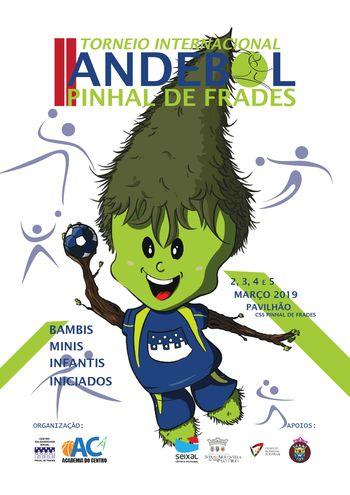 Cartaz II Torneio Internacional de Pinhal de Frades