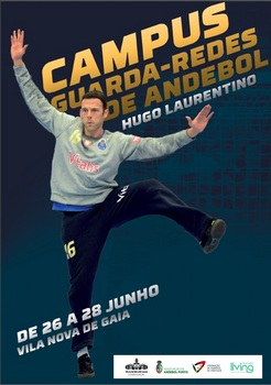 Cartaz Campus Guarda-Redes Andebol