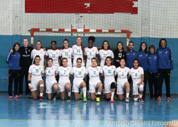 Selecção Nacional Juniores B Femininas - foto: António Oliveira