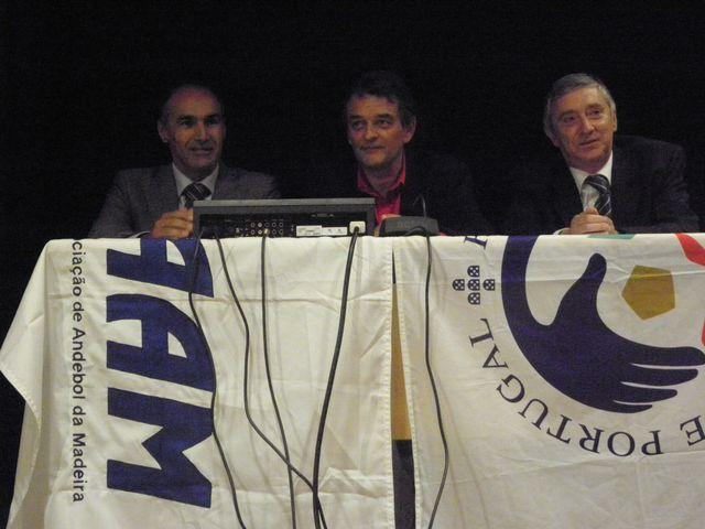 Ulisses Pereira na abertura do XXII Clinic da AA Madeira