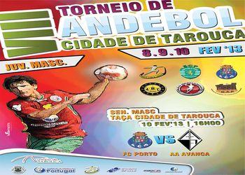 Cartaz  VIII Torneio Cidade de Tarouca - Juvenis Masculinos