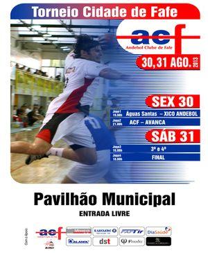 Cartaz Torneio Cidade de Fafe 2013