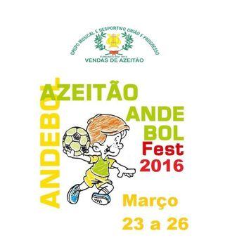 Cartaz Azeitão Andebol Fest 2016