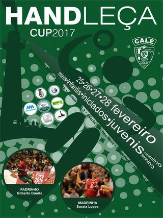 Cartaz Handleça Cup 2017
