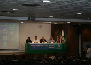 Sorteio do Campeonato Nacional 1ª Divisão Seniores Masculinos - Época 2009-2010