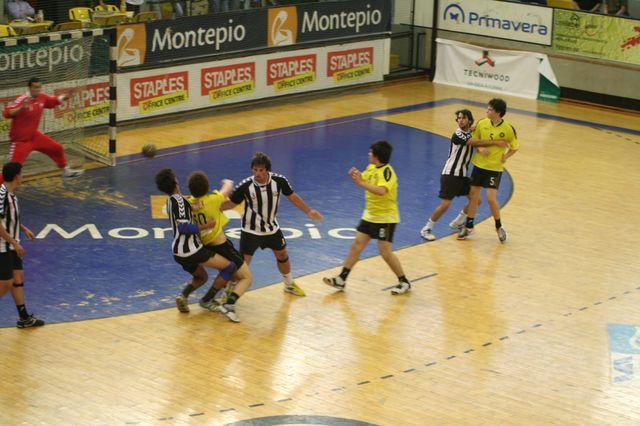 Fase Final CN 1ª Divisão Juvenis Masculinos - ABC : SC Espinho 28