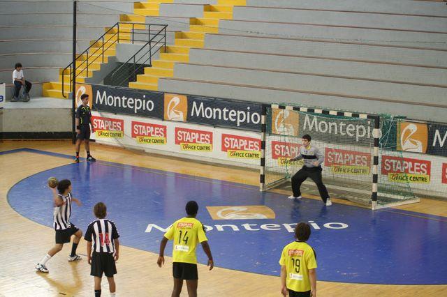 Fase Final CN 1ª Divisão Juvenis Masculinos - ABC : SC Espinho 17