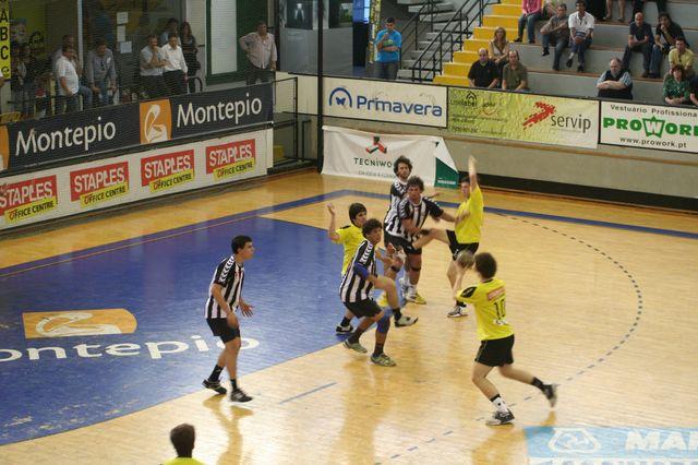 Fase Final CN 1ª Divisão Juvenis Masculinos - ABC : SC Espinho 15