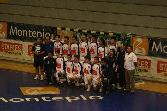 Fase Final CN 1ª Divisão Juvenis Masculinos - Belenenses : DF Holanda 5